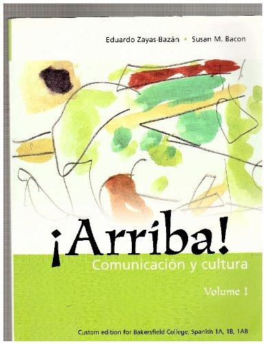 9780536861702: Arriba! Comunicacion Cultura Volume 1