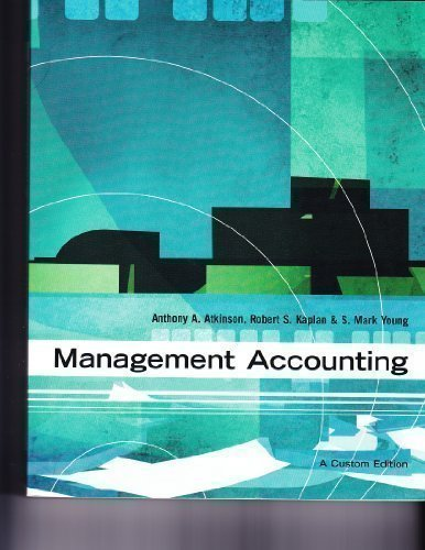 9780536862563: Management Accounting
