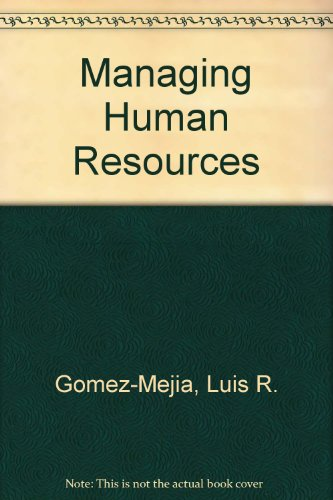 9780536866998: Managing Human Resources