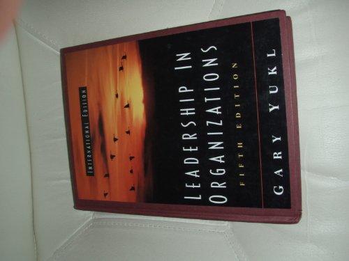 9780536867032: Leadership in Organizations