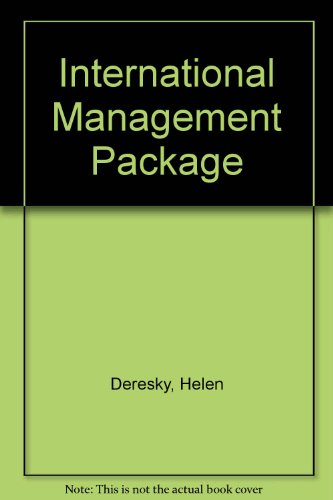 9780536867308: International Management: Managing Across Borders and Cultures