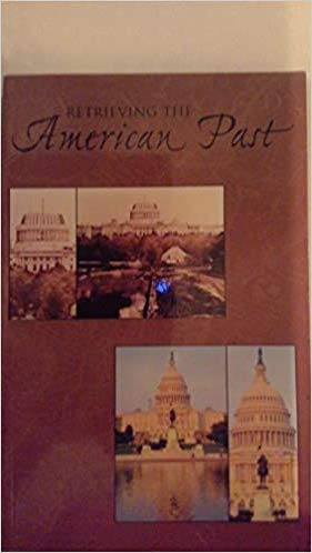9780536875884: Retrieving the American Past: A Customized History Reader