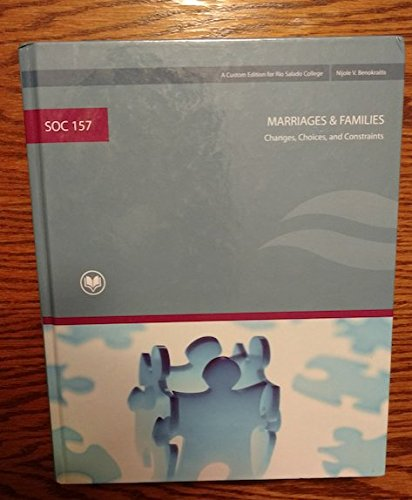 9780536896193: SOC 157 Marriages & & Families a Custom Edition for Rio Salado. Taken From Marriages & & Families 6th Edition