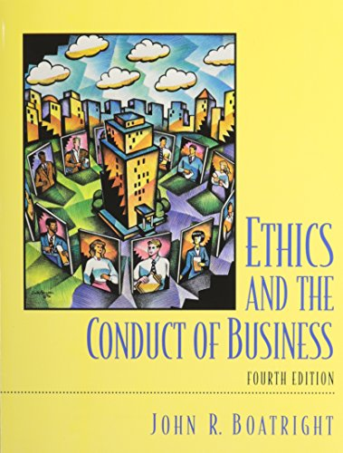 9780536903068: Ethics and the Conduct of Business