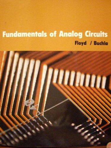 9780536912619: Fundamentals of Analog Circuits