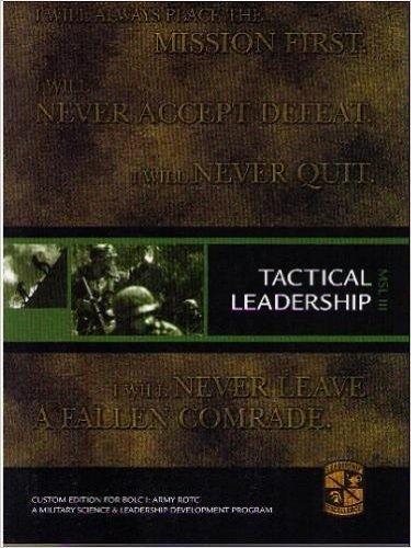 9780536912930: Tactical Leadership (MSL 301)