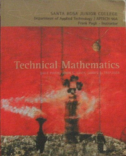 Technical Mathematics: Dale Ewen