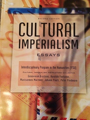 cultural imperialism essays Cultural imperialism: negative changes to the modern world new processes and developments take place and implement in the world those transformations deserve explanation, because of their often contradictory essence globalization is one of those that contain important implications both in the.