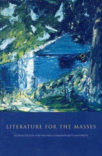 9780536920133: Literature for the Masses (Custom edition for Virginia Commonwealth University)