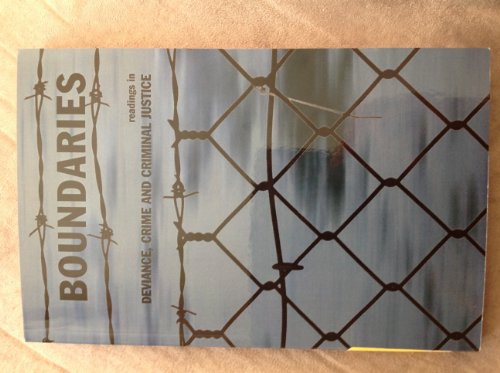 9780536935359: Boundaries (Readings in Deviance, Crime and Criminal Justice)