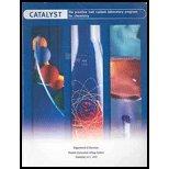 9780536937957: Catalyst Lab Manual for Chemistry, Custom Edition
