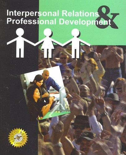 9780536941459: Interpersonal Relations & Professional Development