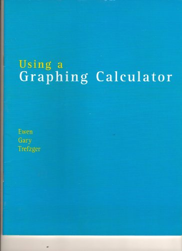 9780536942364: Using a Graphing Calculator (From Technical Calculus, Fifth Edition)