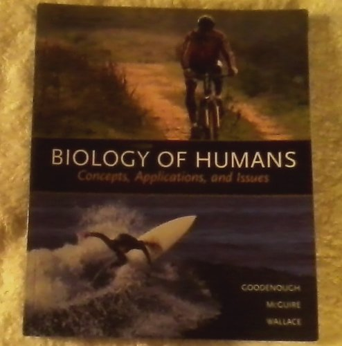 9780536943552: Biology of Humans: Concepts, Applications, and Issues