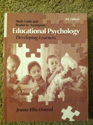 Educational Psychology Developing Learners (ASU Edition): Ormrod