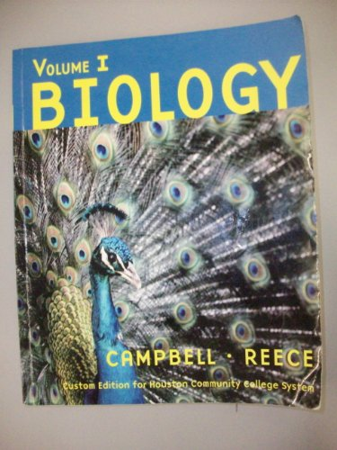 9780536953681: Biology, Volume 1, Custom Edition for Houston Community College System