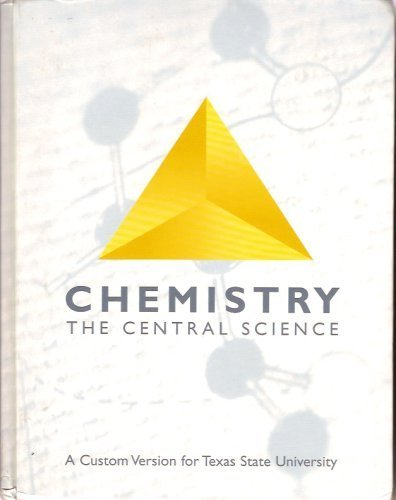 9780536954299: Chemistry the Central Science a Custom Version (For Texas State University)