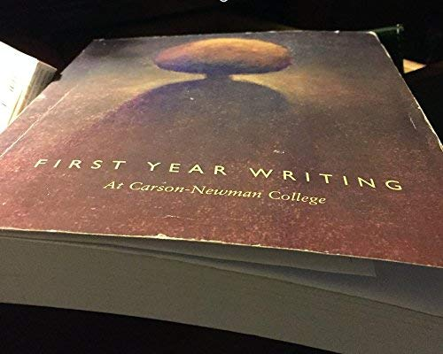 9780536955647: First Year Writing at Carson-Newman College