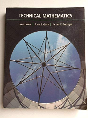 9780536958358: Technical Mathematics