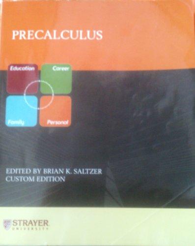 9780536958549: Precalculus