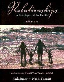 9780536959027: Relationships in Marriage and the Family