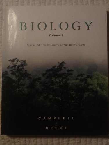 9780536963567: Biology, Vol. 1, Special Edition for Owens Community College