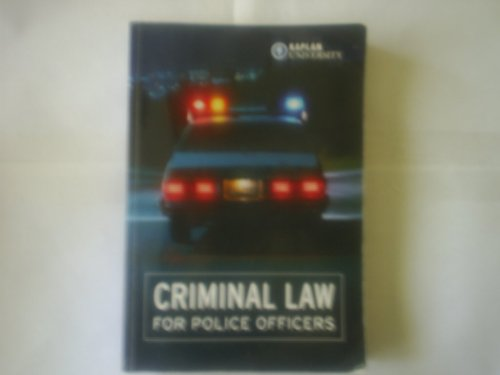 9780536964656: Criminal Law for Police Officers