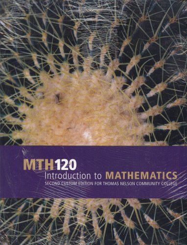9780536965219: Mth 120 Introduction to Mathematics