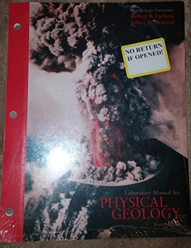 9780536970237: Laboratory Manual for Physical Geology, 4th Edition, Wayne State University