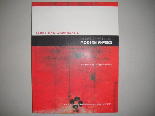 Sears and Zemansky's University Physics with Modern: Hugh D. Young