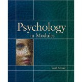 9780536977038: Psychology in Modules (For John Jay College of Criminal Justice)