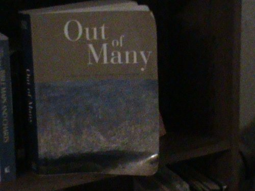9780536977441: Out of Many (Combined Volume)