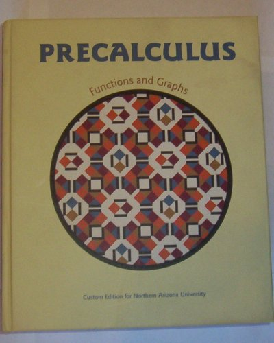 9780536979698: Precalculus Custom Edition for Northern Arizona University