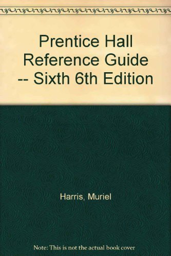 9780536980076: Prentice Hall Reference Guide -- Sixth 6th Edition