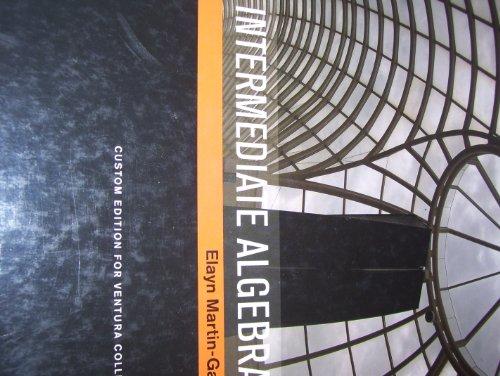 9780536995346: Intermediate Algebra [Book + CD]
