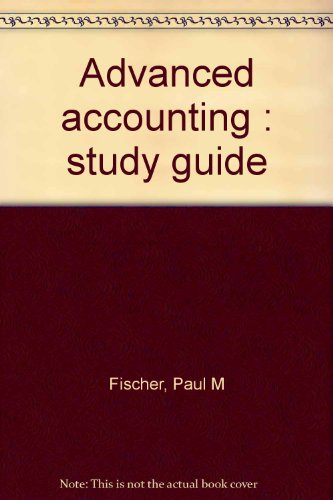 9780538012614: Advanced accounting : study guide