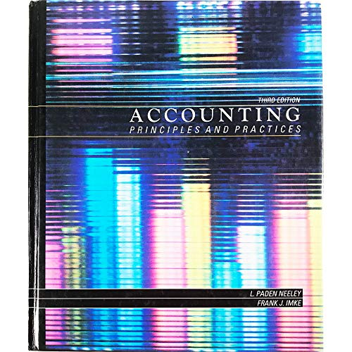 9780538016315: Accounting principles and practices