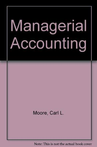 9780538019507: Managerial Accounting