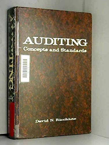 9780538019804: Auditing: Concepts and Standards