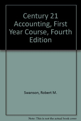 9780538024105: Century 21 Accounting: First-Year Course (Ba-Accounting-First Year)