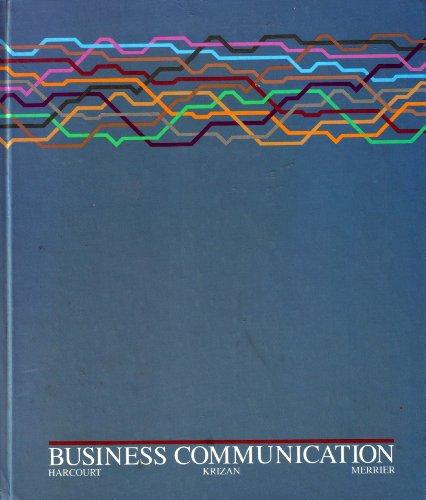 Business Communication: Jules Harcourt; Patricia