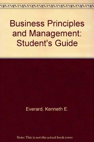 9780538073516: Business Principles and Management