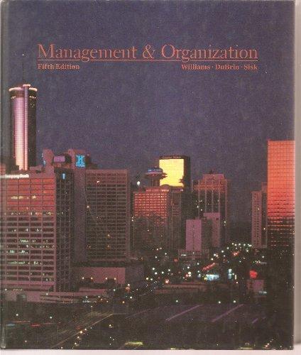 9780538074407: Management and Organization