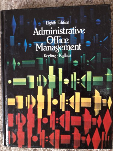9780538075305: Administrative Office Management
