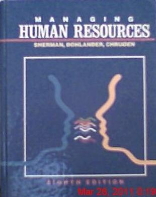 Managing human resources (GC-Principles of Management): Sherman, Arthur W