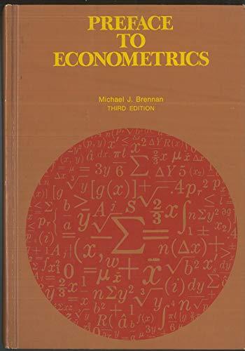 9780538082204: Preface to Econometrics: Introduction to Quantitative Methods in Economics