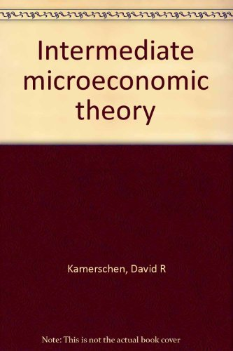 intermediate price theory Intermediate microeconomics: price theory course description and learning objectives: this course develops basic techniques and fundamental concepts of neoclassical microeconomic theory the main aim of the.