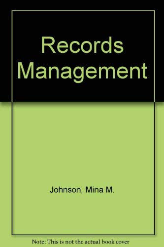 9780538116800: Records Management