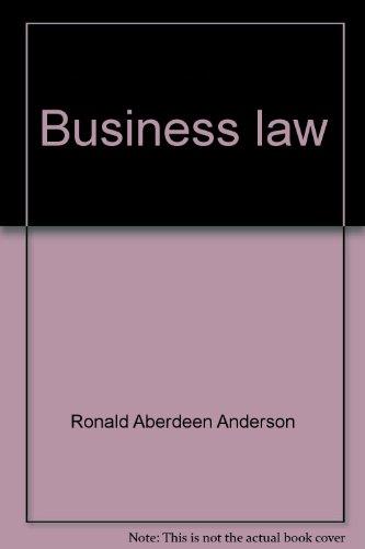 Business Law: Walter A. Kumpf;