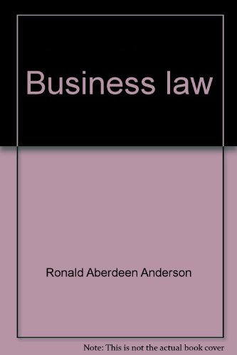 9780538126106: Business law